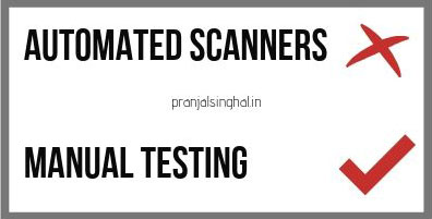 Bug Bounty Guide. Why not to use automated scanners
